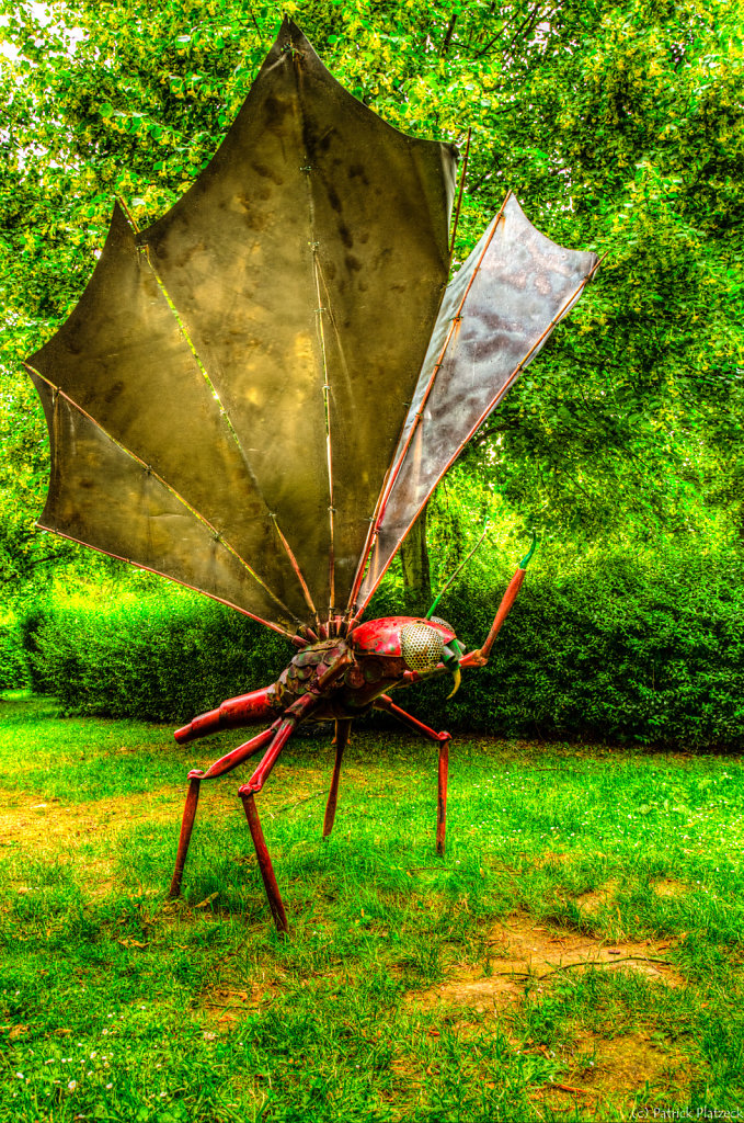 Insektenskulptur